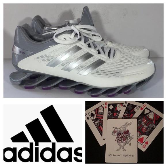 b62066344638 New Adidas Springblade Sneakers Athletic Sz 8.5